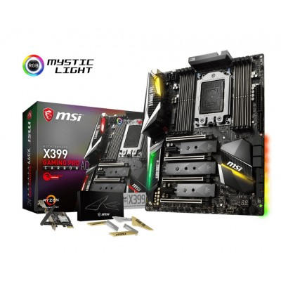 MSI X399 Gaming Pro Carbon AC Ryzen Threadripper TR4
